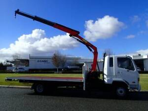 Mitsubishi 5 Tonne Crane Truck Welshpool Canning Area Preview