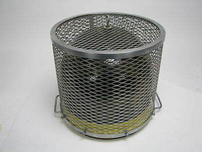 Glass Bell Jar Heavy Duty Cage 12 12h X 13 34w Pyrex Corning Ware Usa