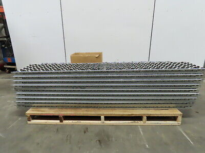 90 X 16 Skate Wheel Carton Flow Racking Gravity Roller Conveyor Lot Of 17