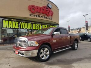 2016 RAM 1500 Big Horn DIESEL CREW 6.4 BED TONEAU H-TED WHEEL