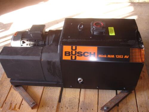 Busch Mink MM 1202 AV Dry Claw Vacuum Pump NEW