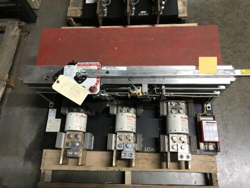 Qa-3033-cbc 3000a 480v Black Insulator Back Pringle Switch Used E-ok