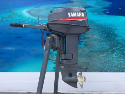 YAMAHA 2001 20HP 2-STROKE OUTBOARD MOTOR - FULLY REBUILT