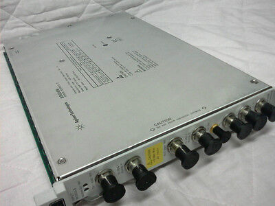 Agilent Hp 89606b Baseband Input Module For Vsa Vector Signal Analyzer Systems