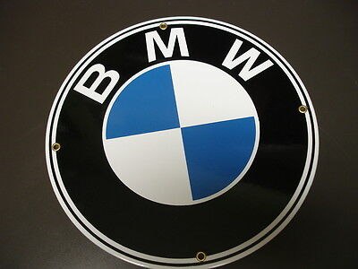 BMW Porcelain/Metal advertising sign