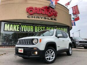 2018 Jeep Renegade North NAV H-TED SEAT REAR CAM PANO ROOF 4X4