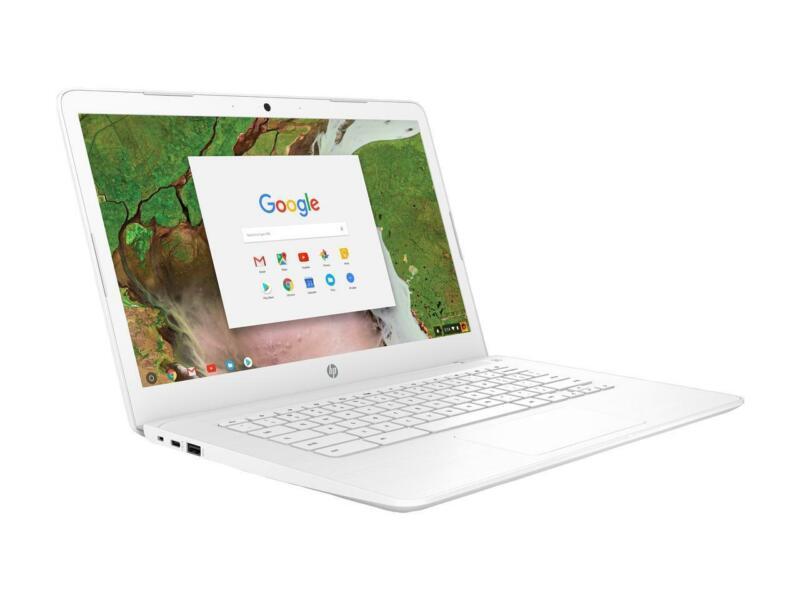 """HP 14"""" Chromebook 3GY49UA Intel Celeron N3350 1.1GHz 4GB 16GB"""