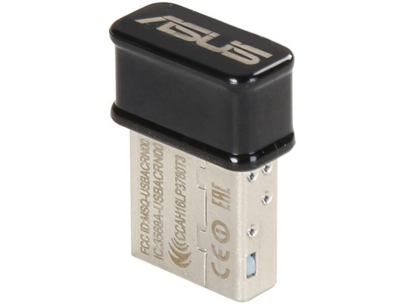 ASUS Certified USB-AC53 Nano AC1200 Dual-band USB Wi-Fi Adapter