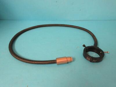Fostec Fiber Optic Light Source Ring Illuminator Cable Microscope
