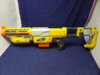 NERF N-Strike CS-6 Dart Gun, Barrel, Magazine, Laser, and Stock T8
