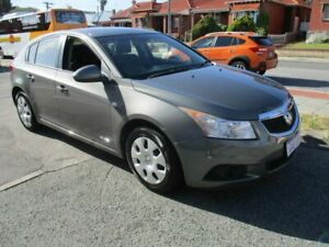 2012 Holden Cruze JH Series II MY12 CD Grey 6 Speed Manual Hatchback West Perth Perth City Area Preview