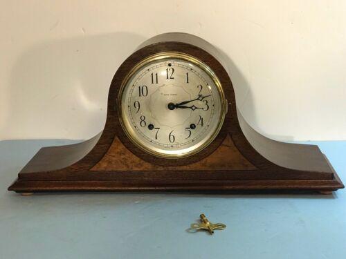 Antique Seth Thomas no. 4602 Tambour Mantel Clock Mech. Movmnt w/ Gong Chime