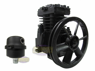 Schulz Industrial Single Stage Cast Iron Air Compressor Pump 2 Or 3 Hp Mls-10max