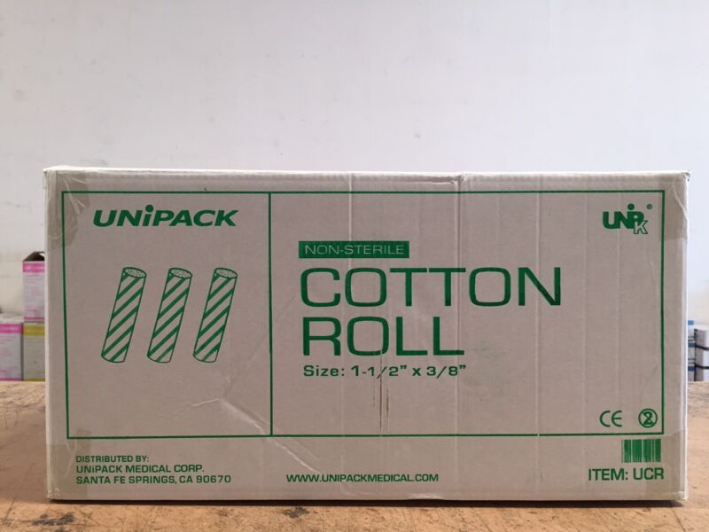 12000pcs DENTAL COTTON ROLL DENTIST SUPPLY - SAME DAY SHIPPING