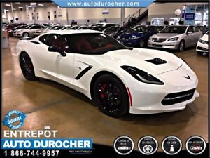 2016 Chevrolet Corvette Z51 3LT AUTOMATIQUE CUIR JANTES CAMERA D