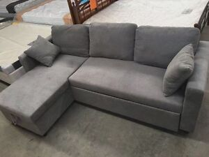 High Density Foma Fabric Storage Sofa Bed Springvale Greater Dandenong Preview