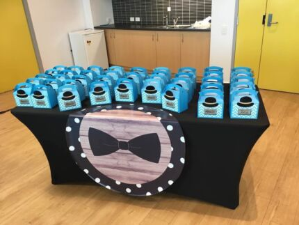 Black Lycra Table Covers