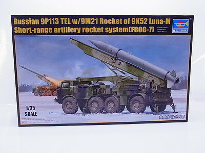 Interhobby 43578 Trumpeter 01025 Russian 9P113 Rocket Luna-M 1:35 Bausatz OVP