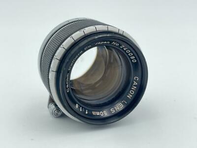 Vintage Canon 50mm F1.8 LTM M39 Nr240080 Lens . Recent CLA d - $145.00