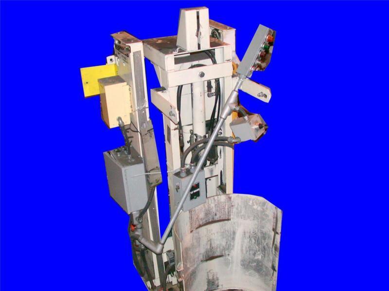 VERY NICE HERCULES 1200 LB CAPACITY DRUM STAND DUMPER MODEL HI-649 SP