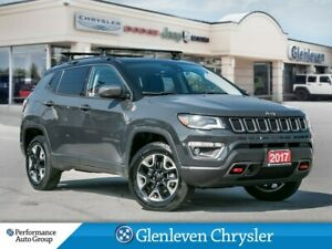 2017 Jeep Compass Trailhawk sunroof navigation