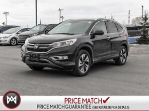 2016 Honda CR-V TOURING, AWD,APPLE CAR PLAY,LEATHER STILL HAS LO