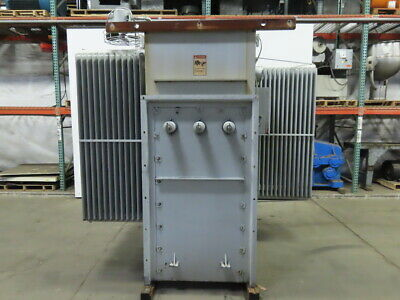 Square D 12470 Delta Hv 480y277 Lv 15001932 Cont Kva Substation Transformer