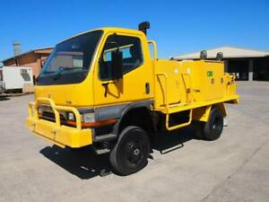 1999 Mitsubishi Canter 4x4 Fire Truck South Murwillumbah Tweed Heads Area Preview