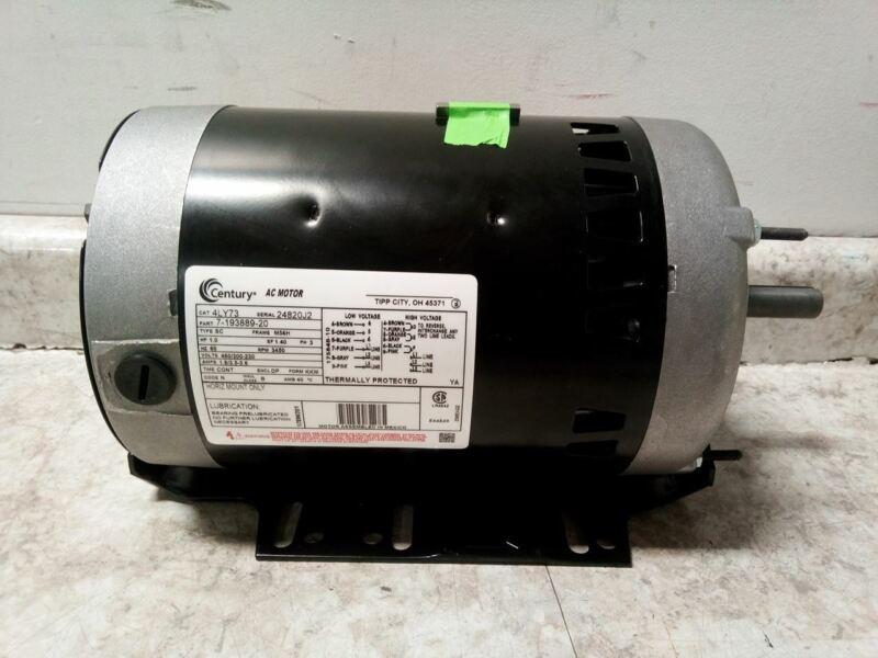 Century H842V1 1 HP 3450 RPM 200-230/460V 3-Phase Belt Drive Motor