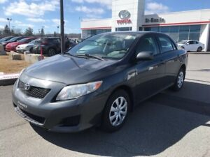 2010 Toyota Corolla CE AIR CLIMATISE