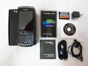 New BlackBerry Torch 9800 - 4GB Black (Unlocked)  Slider OS6.0 GSM 5MP cellphone