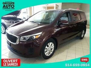 2017 Kia Sedona LX / APPLE CONNECT / 8 PLACES / CAMERA DE RECUL