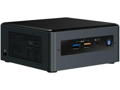 Intel NUC  Intel i7 Quad Core Black Mini Barebone System