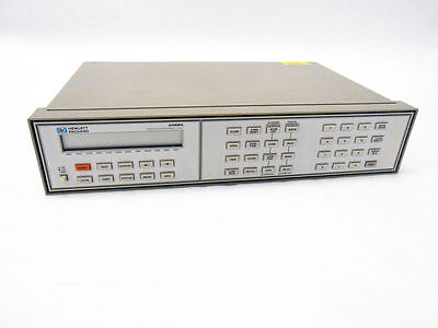 Hp 3488a Switch Control Unit With Hp-ib Agilent