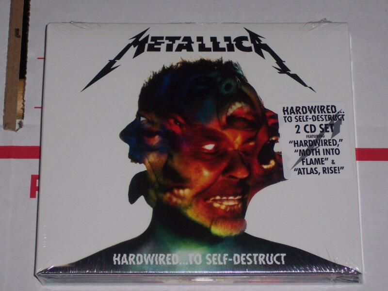Hardwired...To Self-Destruct [Digipak] by Metallica CD, Nov-2016, 2 Discs NEW!