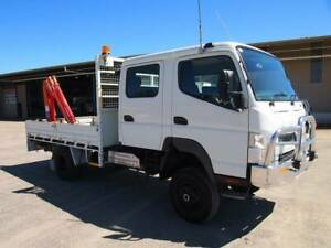 2013 Fuso Canter FG 4x4 Dual Cab South Murwillumbah Tweed Heads Area Preview