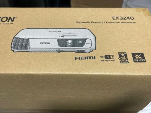 NEW Epson EX3240 SVGA 3LCD HDMI 3200-Lumens Projector