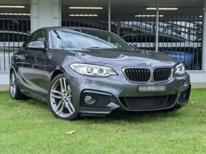 2017 BMW 2 Series F22 220i M Sport Grey 8 Speed Sports Automatic Coupe Victoria Park Victoria Park Area Preview