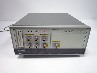 HP 70001A MAINFRAME WITH 70841B PATTERN GENERATOR & 70311A CLOCK SOURCE