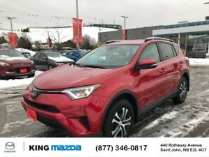 2017 Toyota RAV4 LE AWD..ACTIVE SAFETY FEATURES..BLUETOOTH...BAC