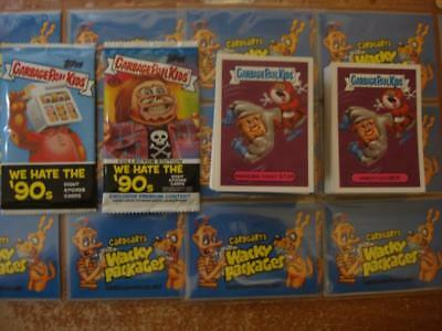 2019 GARBAGE PAIL KIDS WE HATE THE 90'S COMPLETE SET 220 CARDS + BOTH (Garbage Pail Kids Cards)