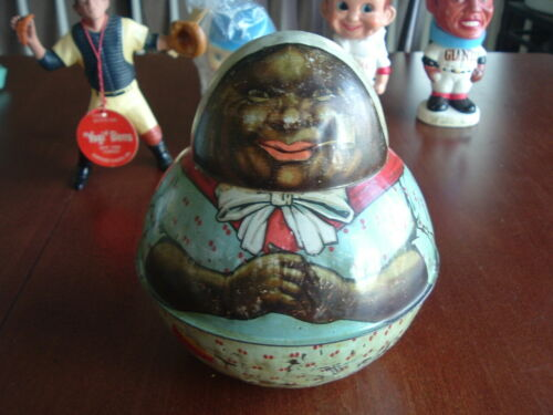 1912 Original Character Roly Poly Tobacco Tin
