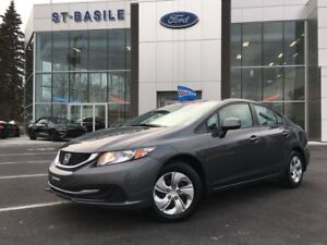 2013 Honda Civic Sdn LX Automatique 71$ weekly / 60 months