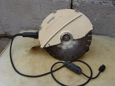Edco Tp400 Electric Concrete Cut Off Saw 120 Volts Works Great