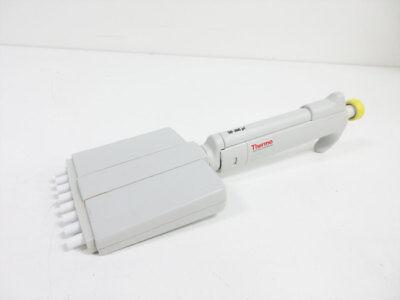 Thermo Scientific 4510 50 - 300 Ul 8 Channel Manual Pipette 4510030 Finnpipette