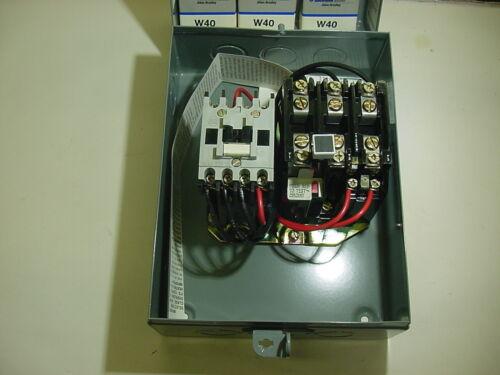 AB Motor starter size 00 3 phase