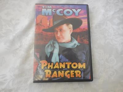 Tim McCoy - Phantom Ranger - B-Western  DVD-R  LIKE NEW for sale  Ojai