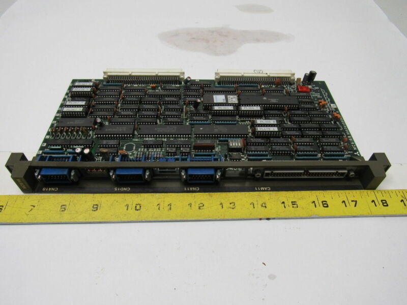 Mazak/Mitsubishi BN624A990G51 MC616B Meldas Circuit Control Board Card
