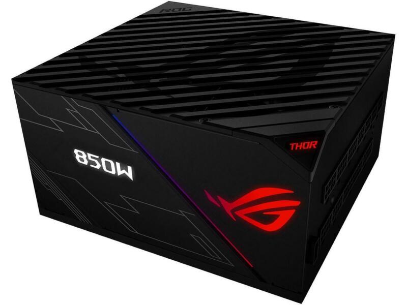 ASUS ROG Thor 850 80+ Platinum 850W Fully Modular RGB Power Supply with LIVEDASH