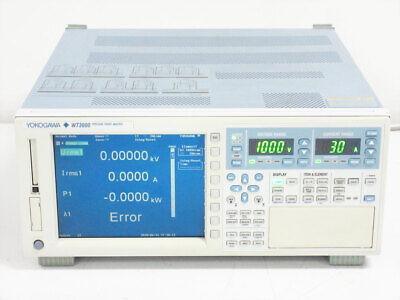 Yokogawa Wt3000 Precision Power Analyzer 760301 -01-sv-d 1 Element